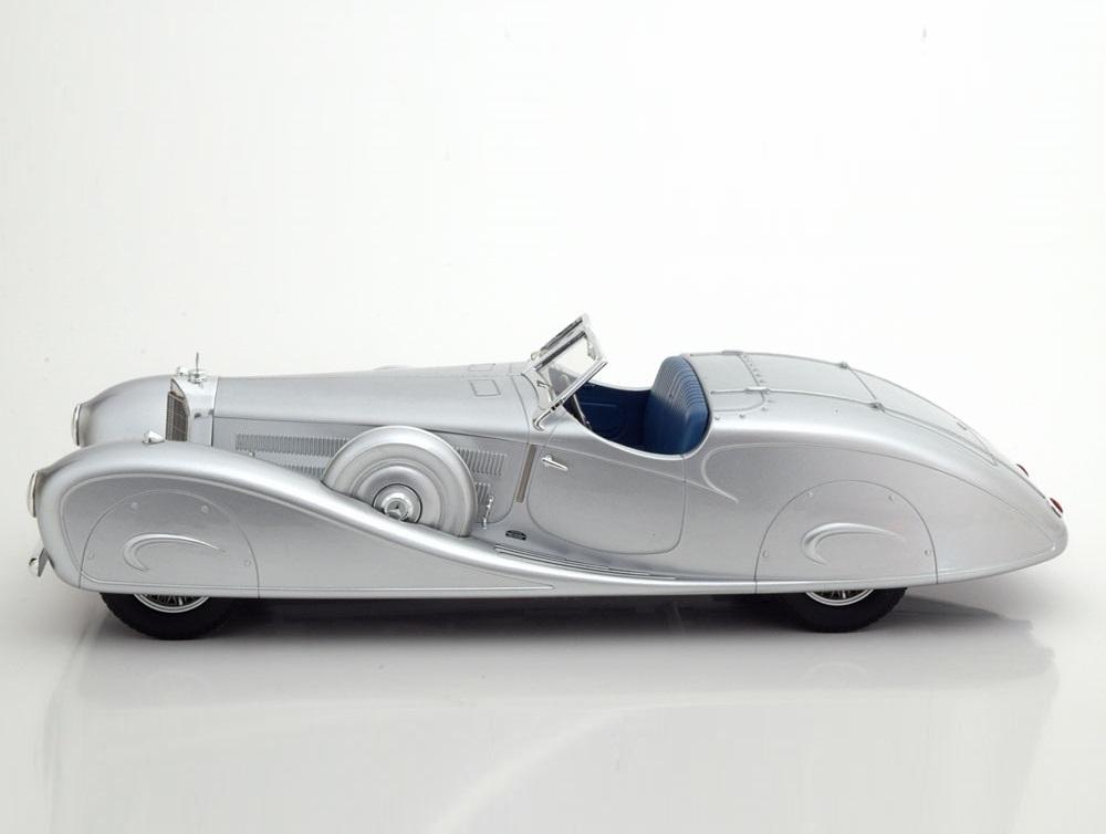 1:18 CMF Mercedes 500k Erdmann /& Rossi 1936 Silver