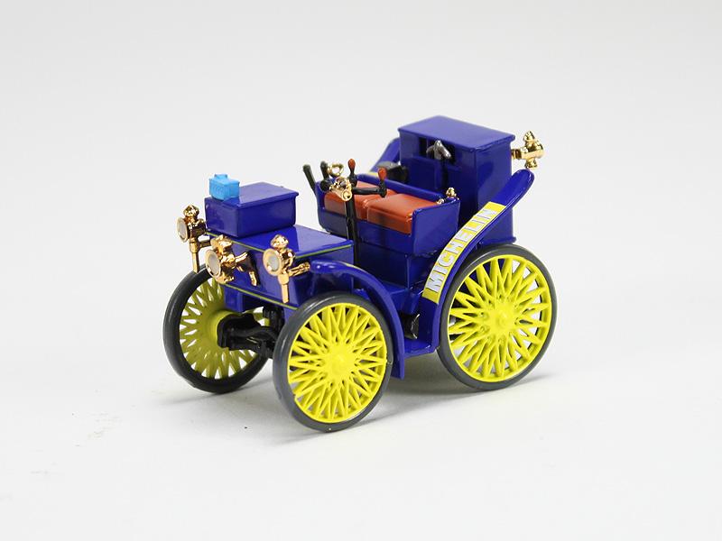 Ixo-ALTAYA michelin l /'Eclair 1895 auto 1:43 modelo