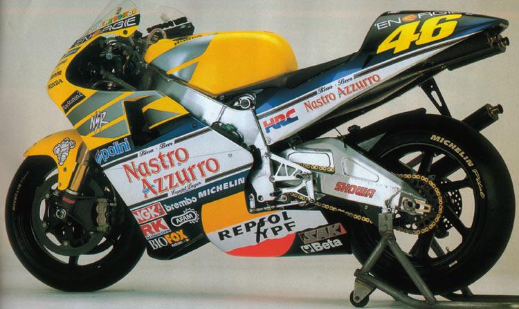 Honda NSR 500 Valentino Rossi 2001