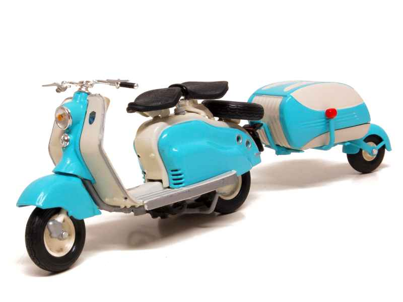Lambretta Scooter LD 125 with trailer