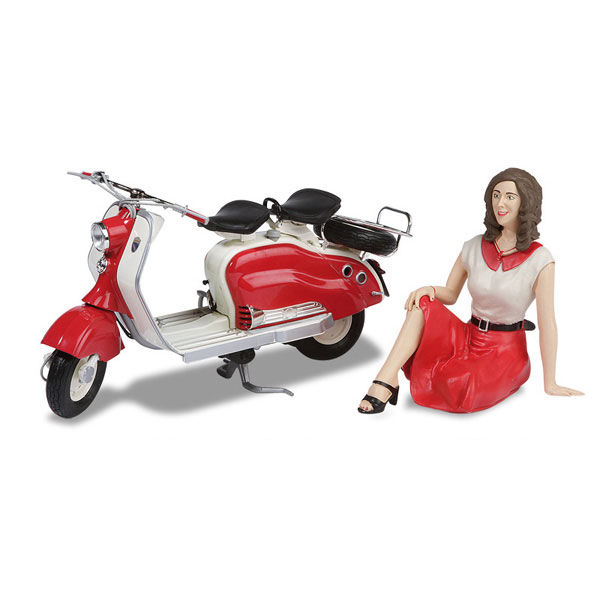 Lambretta Scooter LD 125 with Figurine