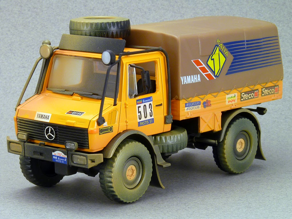 Mercedes UNIMOG - Paris DAKAR Rally