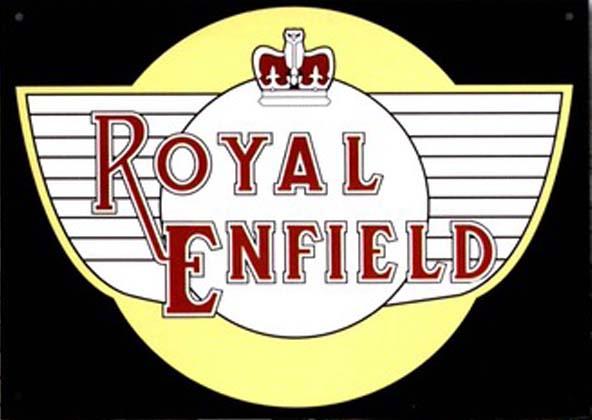 Signage - Royal Enfield