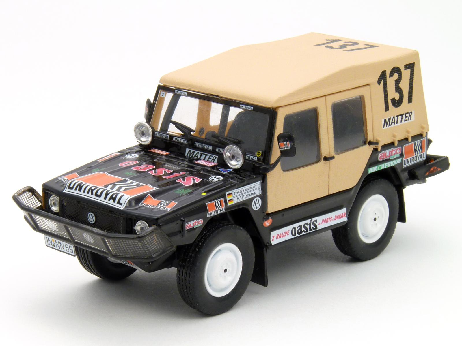 Volkswagen Iltis - Paris DAKAR Rally